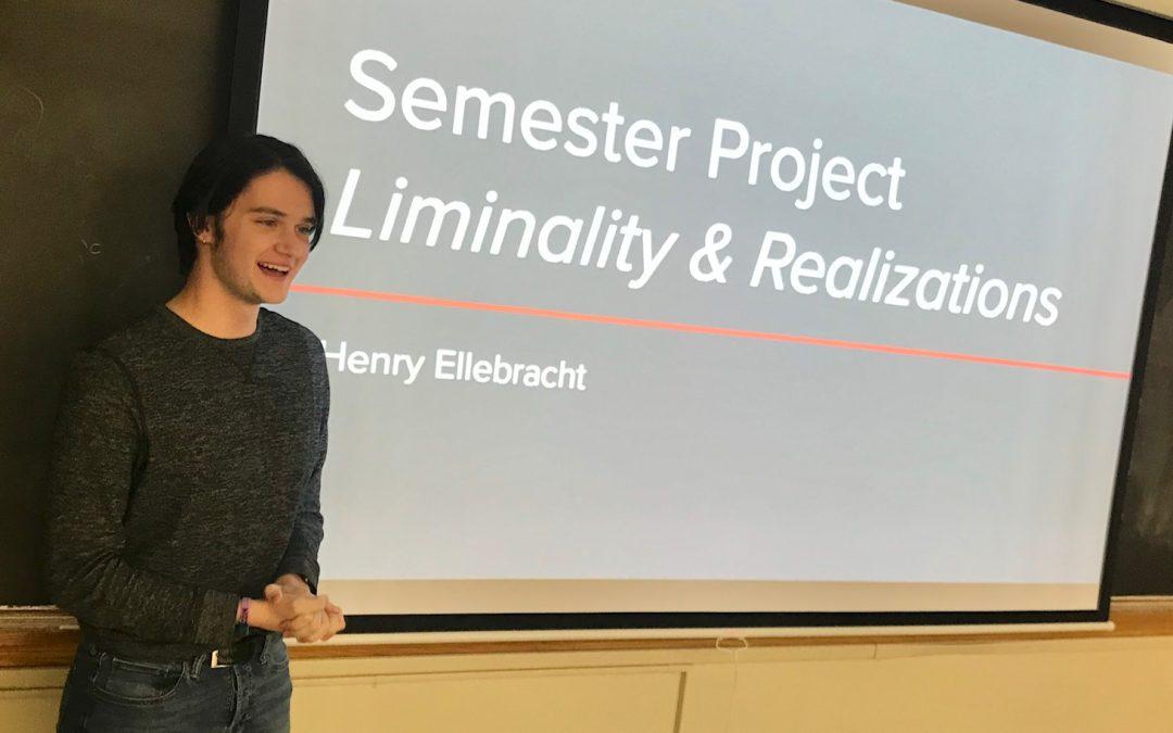 A Liminal Journey of Realization – Henry Ellebracht